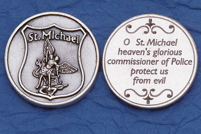 St. Michael/Police Pocket Token